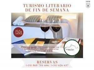 """turismo-literario-fin-semana-300x224 Hospedería """"La Vera Cruz"""" de Caravaca"""